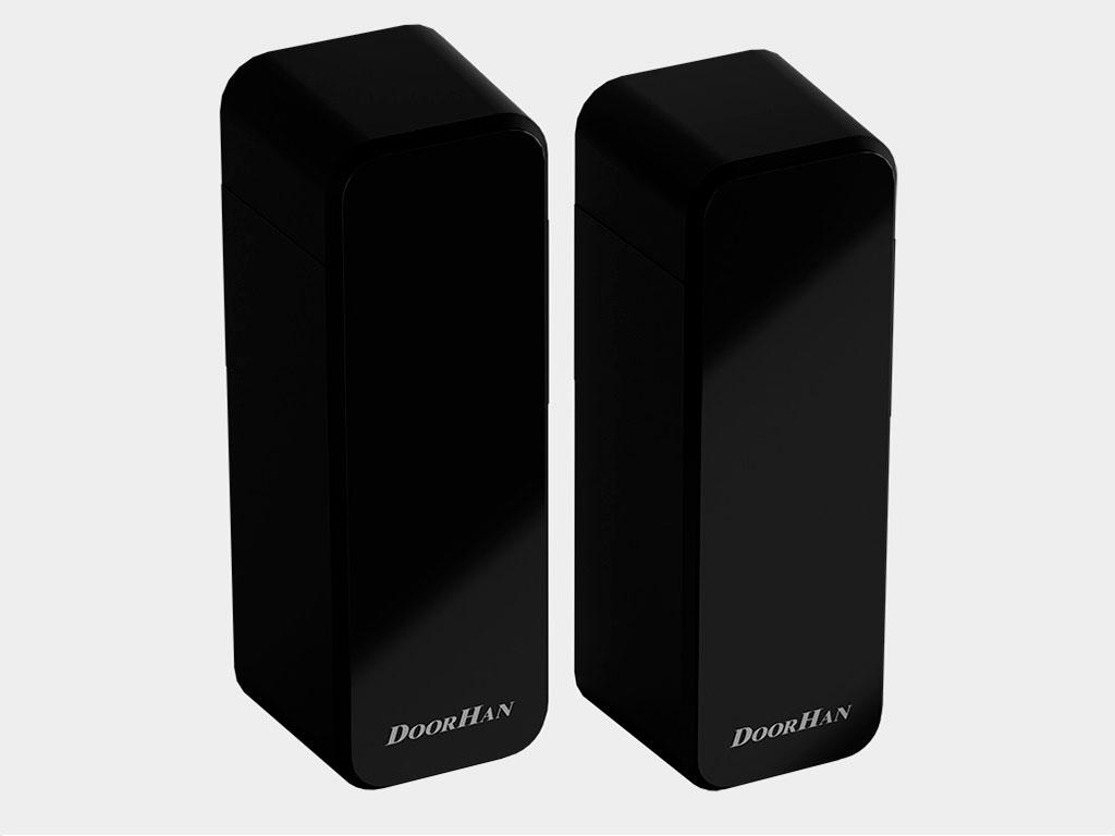 Беспроводные фотоэлементы безопасности c поворотной платой для несимметричных проемов Photocell-PRO