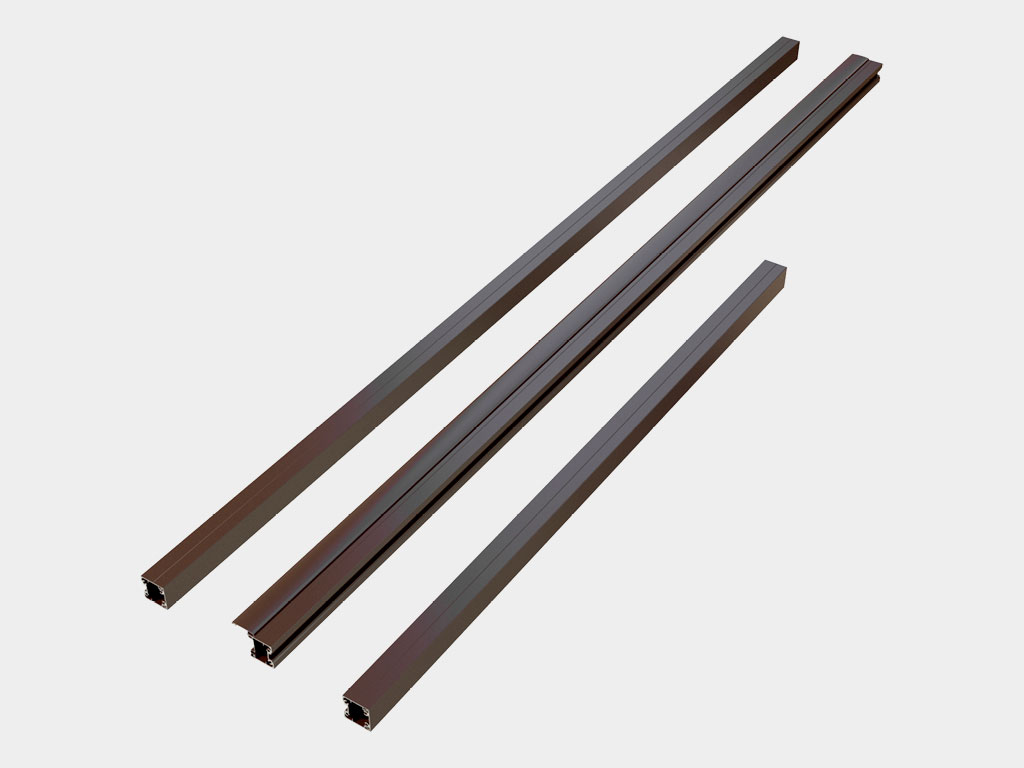 Комплект алюминиевых столбов для крепления