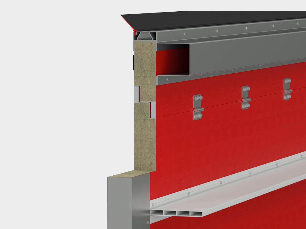 Конструкция ворот с калиткой для перекрытия проема шириной более