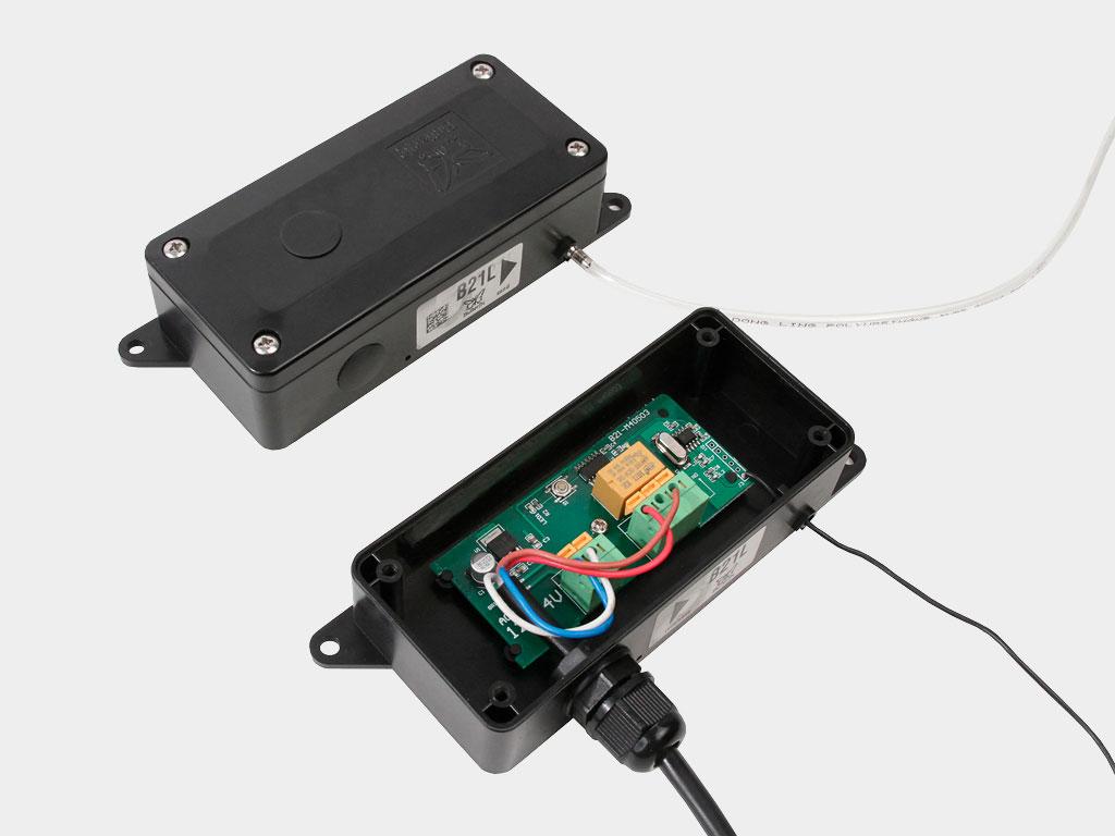 Пневматическая кромка безопасности DH-Sensor-KIT для обеспечения безопасности использования секционных автоматических ворот