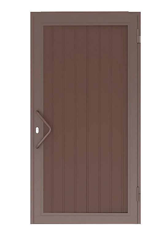 Прямоугольный щит с заполнением из сэндвич-панелей
