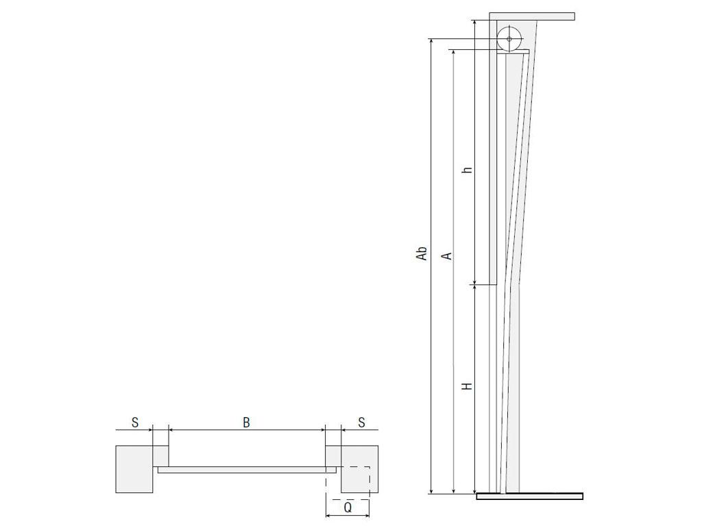 Вертикальный подъем ворота
