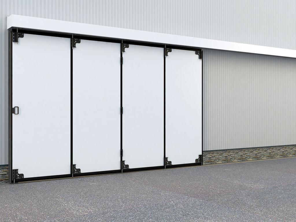 Монтаж на внешней стороне стены подходит в том случае, когда условия внутри здания более жесткие, чем снаружи или при дефиците свободного пространства внутри здания.