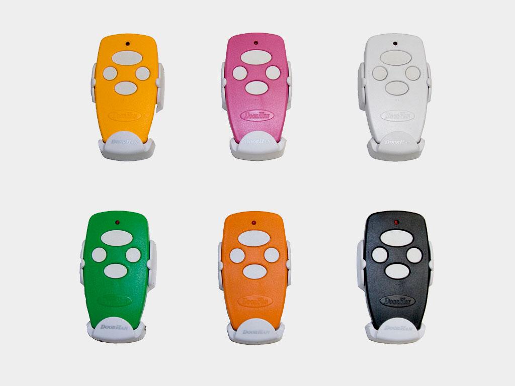 Цветные пульты Transmitter-4 (Color) предназначены для дистaнционного управления 4 автоматическими устройствами