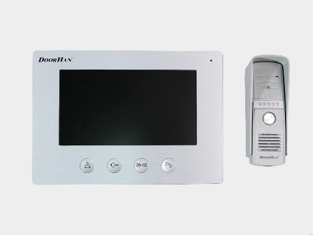 Домофон с функцией выидеовызова DOMO-7 для управления калиткой и воротами ДорХан