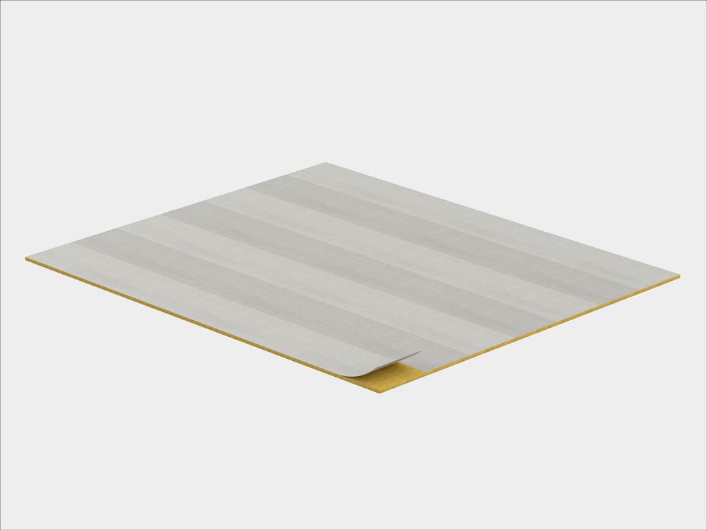 Дополнительное утепление пола первого этажа минеральной ватой толщиной 100 мм и плотностью 35—45 кг/м³
