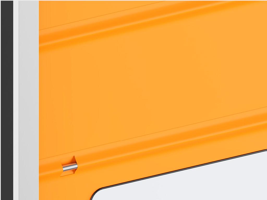 Горизонтальные стальные профили высокой прочности ДорХан