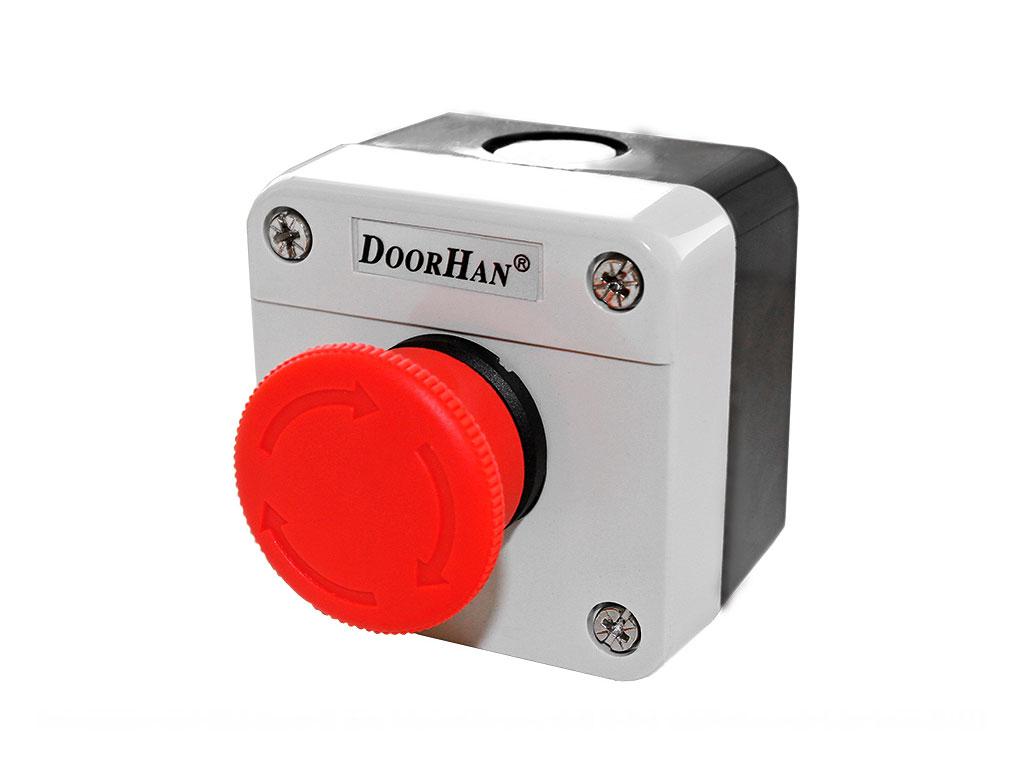 Кнопка STOP для аварийной остановки привода ДорХан