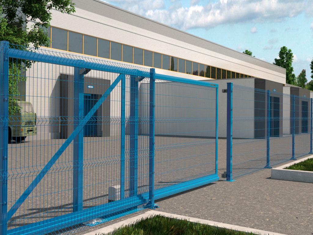 Комплексное решение от одного производителя: заборы, ворота и калитки в едином стиле ДорХан