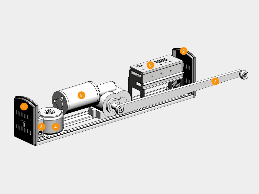 Конструкция-Привод-для-автоматических-распашных-дверей-AD-Swing ДорХан