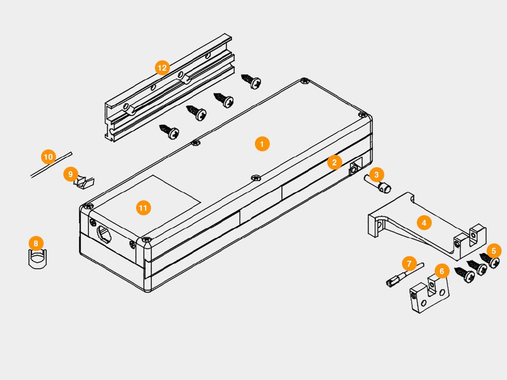 Конструкция-Привода-для-автоматизации-окон-AWIN ДорХан