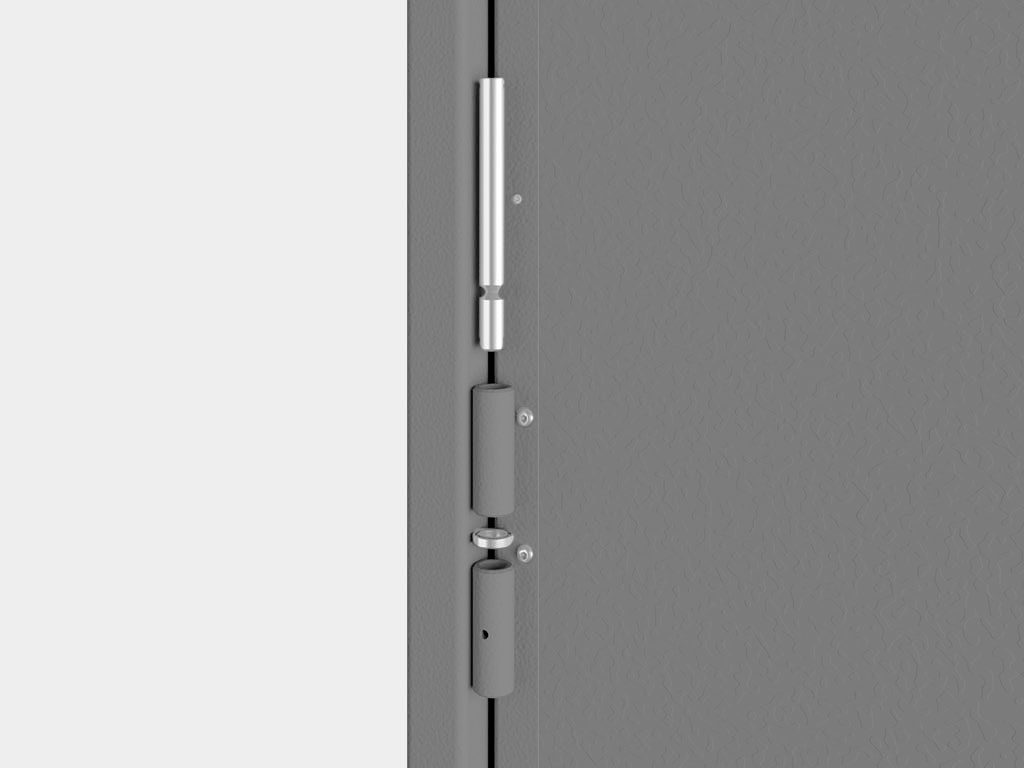 Легкость монтажа и плавность хода створок ворот обеспечиваются благодаря разборным петлям и установленным опорным подшипникам. ДорХан