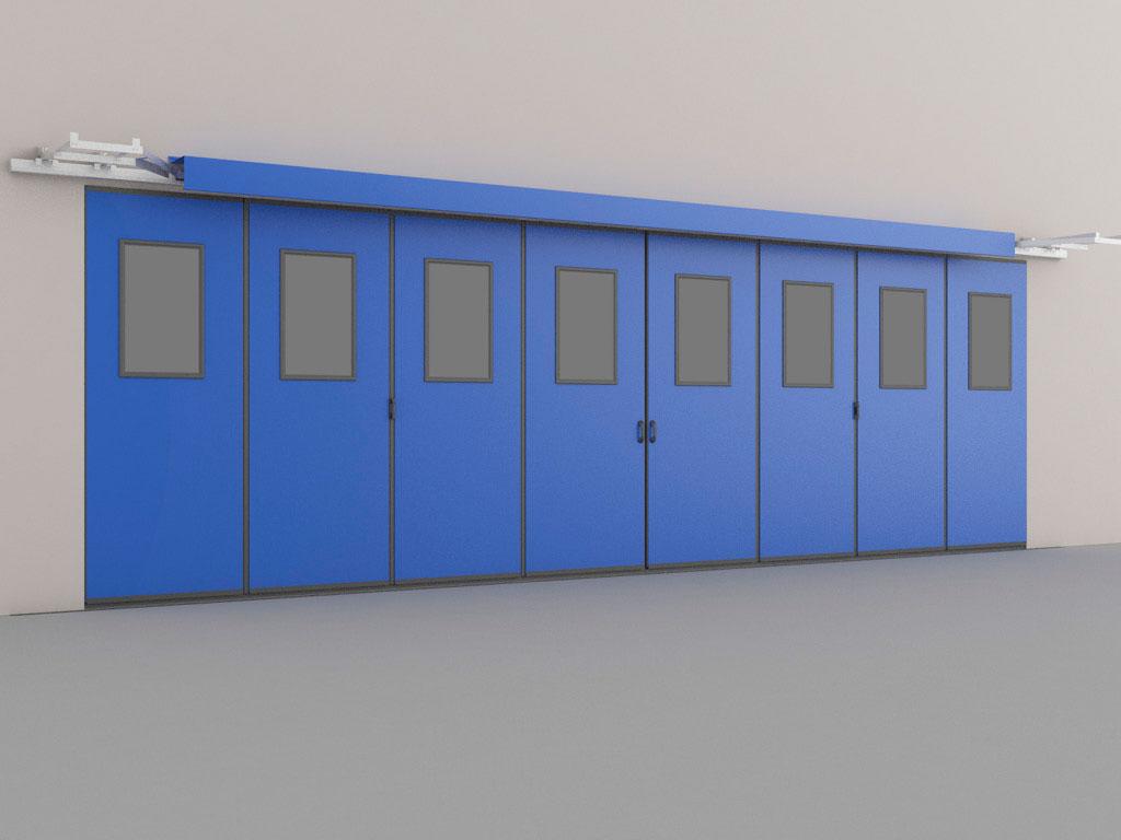 Монтаж на внешней стороне стены подходит в том случае, когда условия внутри здания более жесткие, чем снаружи или при дефиците свободного пространства внутри здания ДорХан