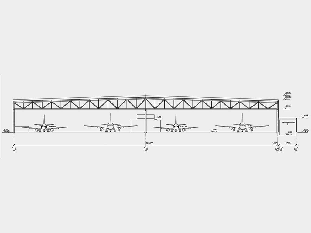 Опыт проектирования ангарных ворот с 1932 года. Такого богатого опыта нет ни у одной фирмы на рынке воротных систем