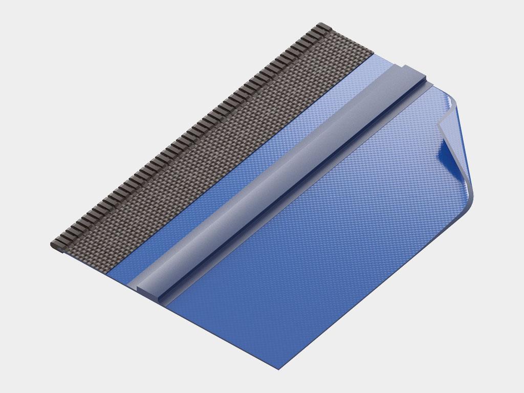 Полотно из непрозрачного армированного ПВХ плотностью 900—1 200 г/м² ДорХан