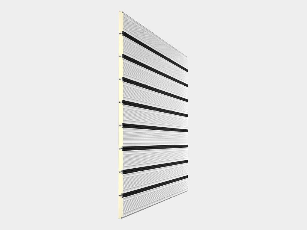 Полотно из сэндвич-панелей толщиной 40 мм ДорХан