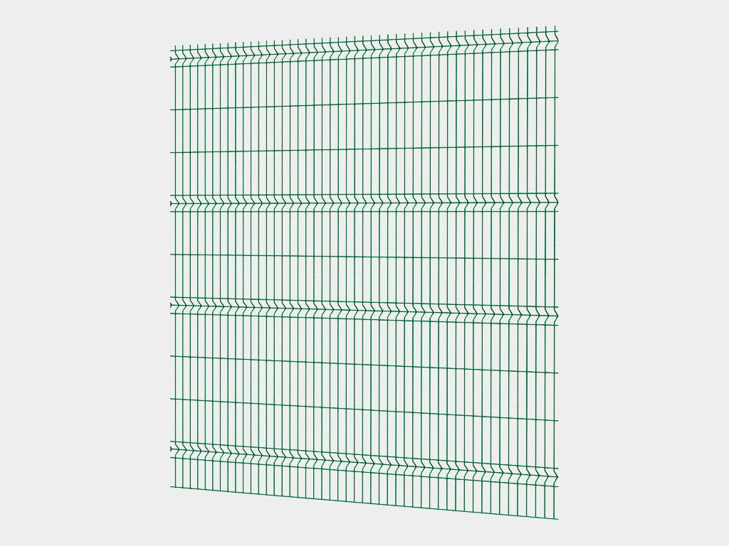 Секции oграждений изготавливаются из металлических прутков методом точечной сварки с последующей обработкой, оцинковкой и покраской. Для увеличения прочности, панели формуются, при этом создаются элементы пространственной жесткости. Полученные конструкции имеют высокую прочность при небольшом весе. По желанию заказчика системы ограждений могут быть окрашены в любой цвет.