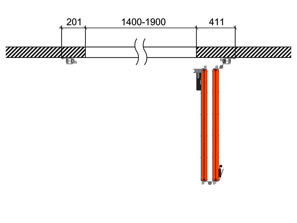 Схема открывания 0 + 2