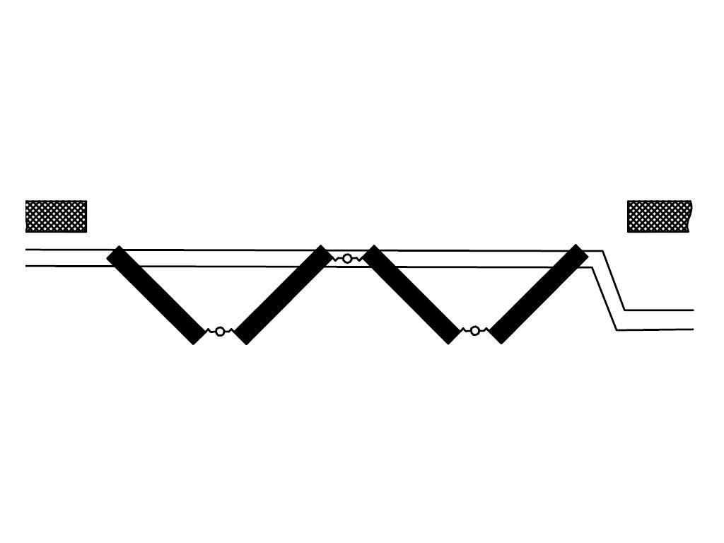 Схема открывания 0+4 ДорХан