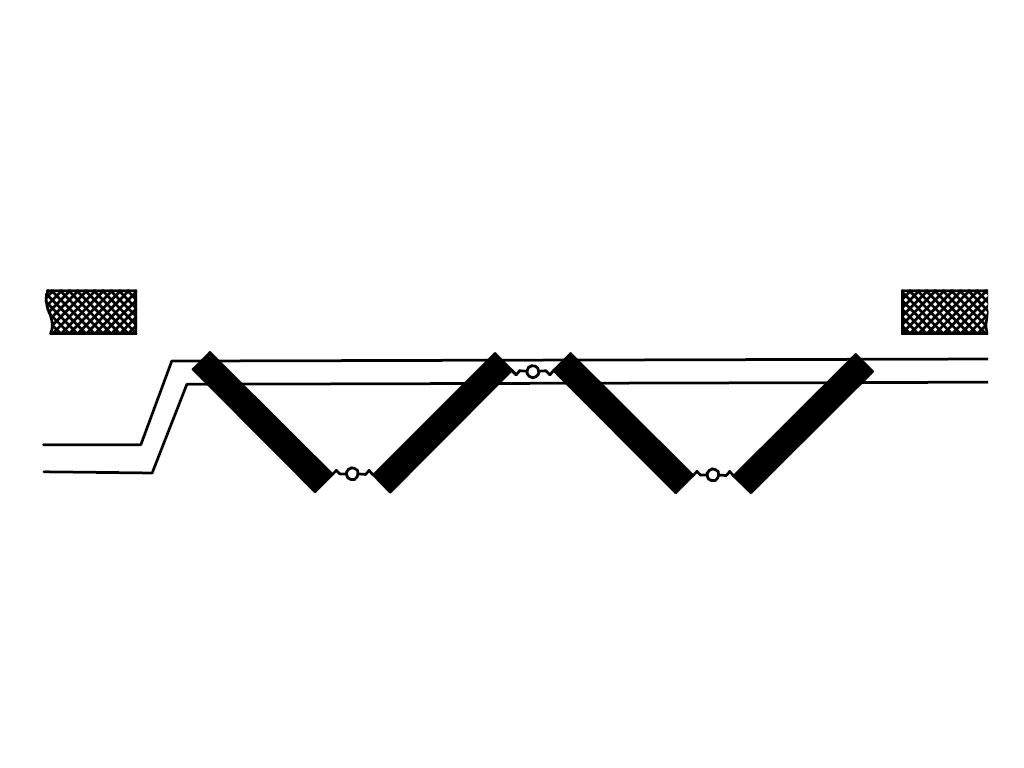 Схема открывания 4+0 ДорХан