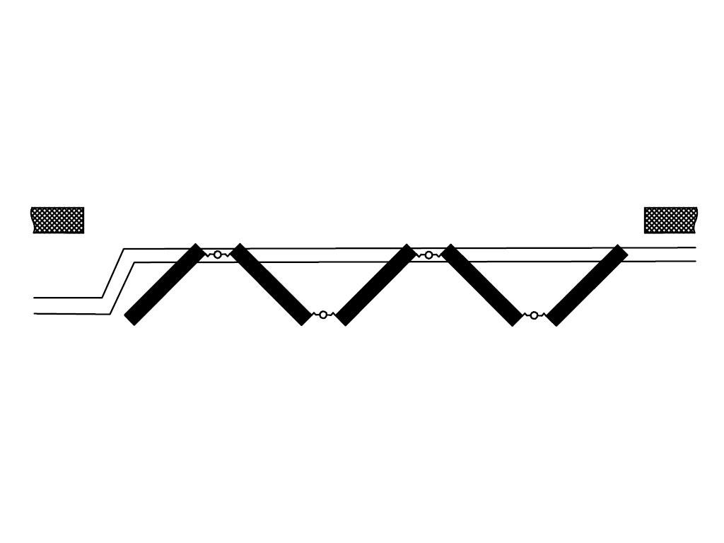 Схема открывания 5+0 ДорХан