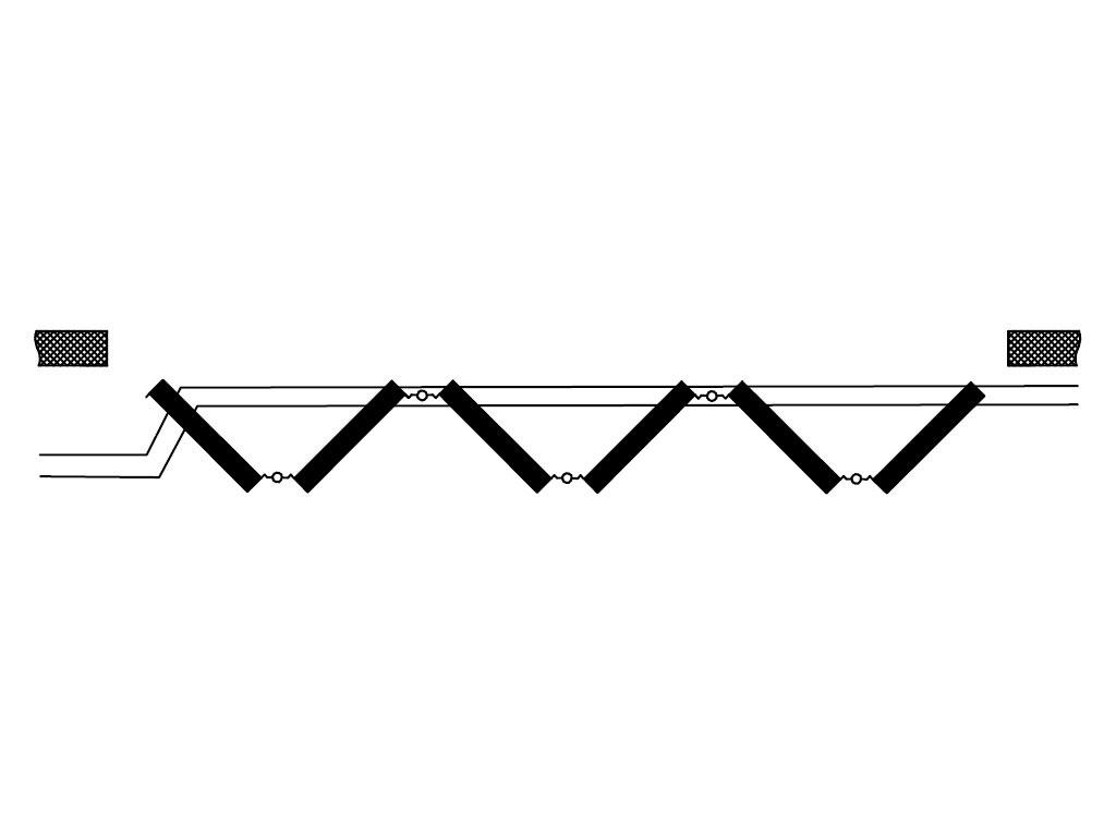 Схема открывания 6+0 ДорХан