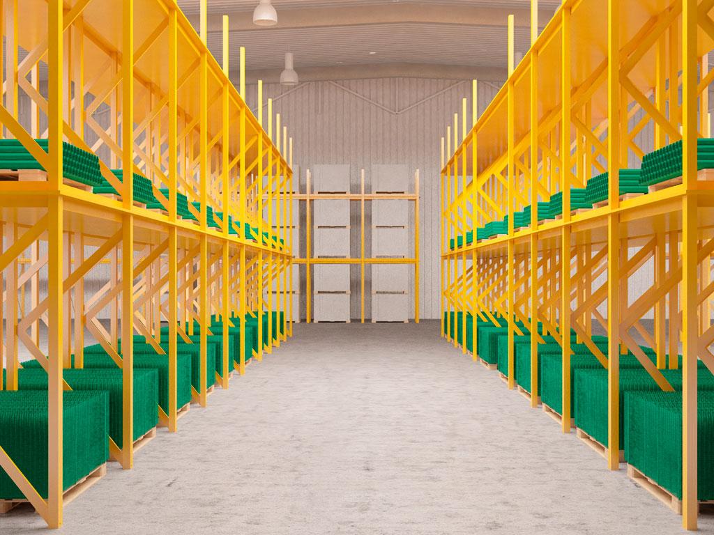 Складские запасы в каждом региональном представительстве позволяют быстро комплектовать и поставлять систему ограждений ДорХан