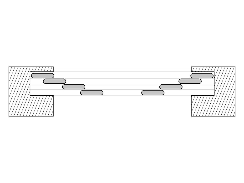 Телескопическое раскатывание полотен откатных ворот ДорХан