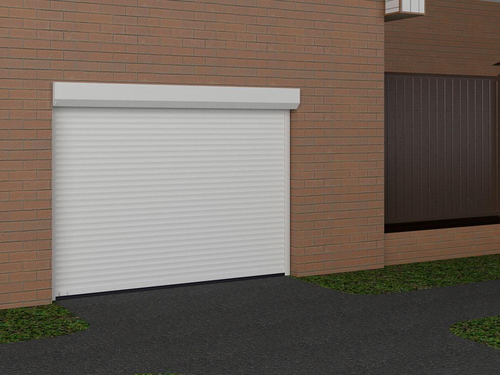 Встроенный монтаж. Встроенный монтаж позволяет расположить все элементы рольставен или рольворот в нише оконного либо дверного проема. ДорХан