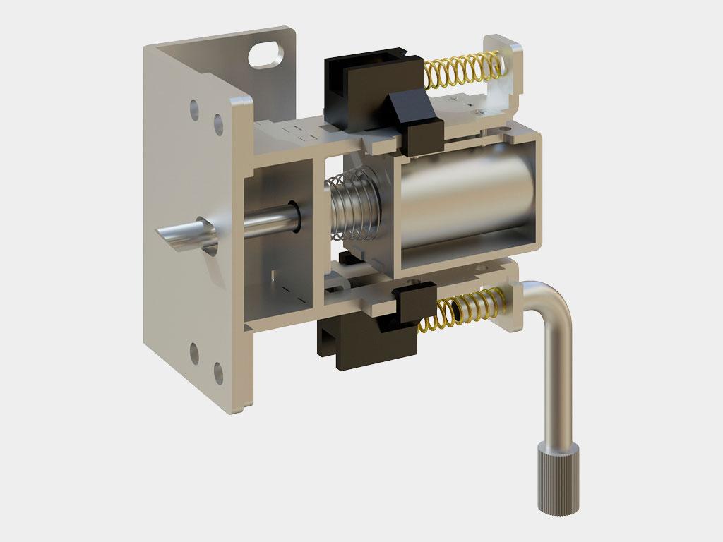 AD-07SP — электромеханический замок обеспечивает надeжную защиту от несанкционированного проникновения ДорХан