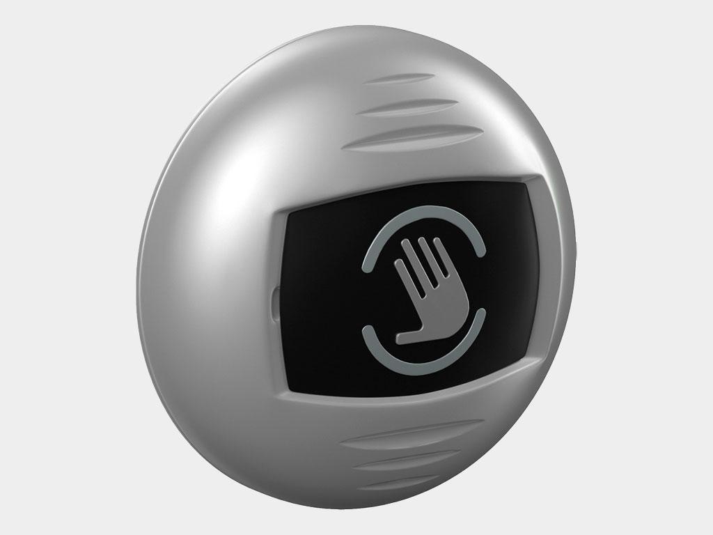 AD-31 — бесконтактная инфракрасная кнопка. Используется для ручного бесконтактного управления дверью вместо датчика движения (от 1 до 15 см) ДорХан
