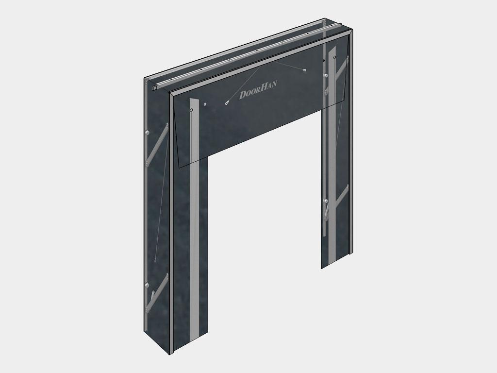 Алюминиевая рама ДорХан