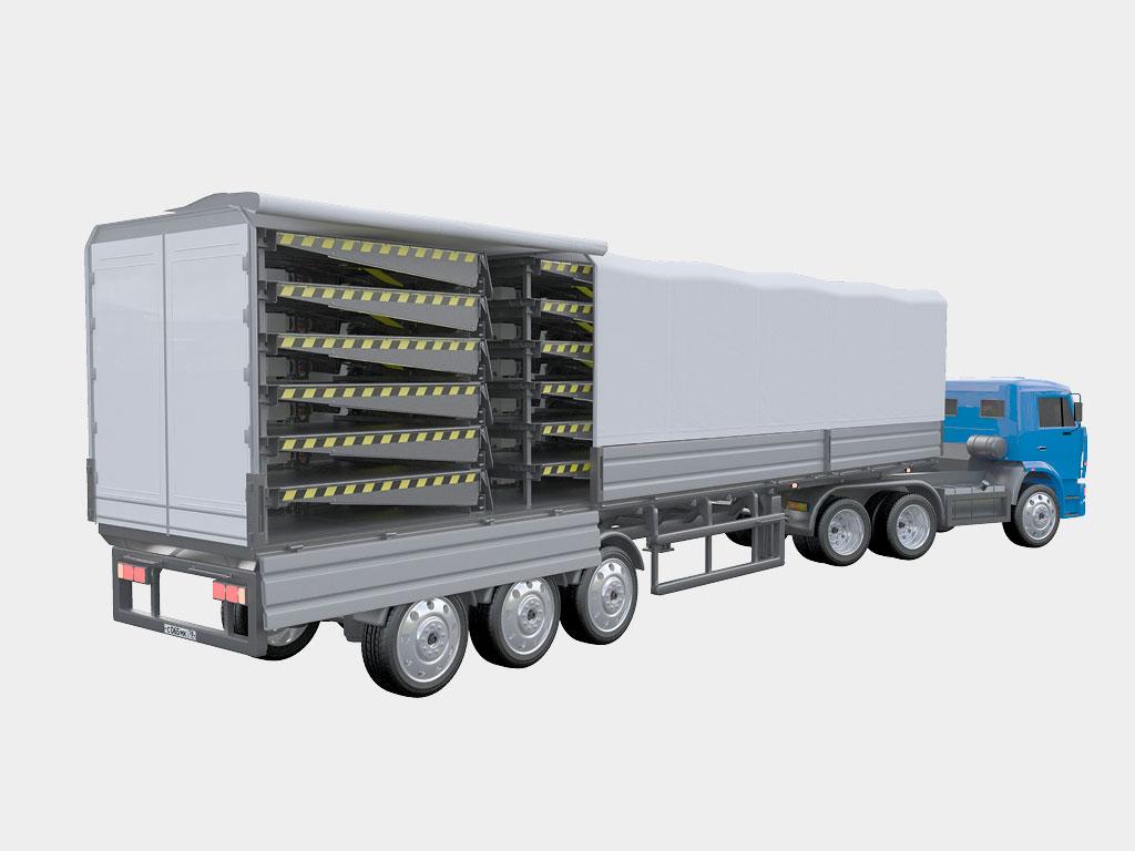 Более дешевая транспортировка за счет уменьшения высоты платформы ДорХан