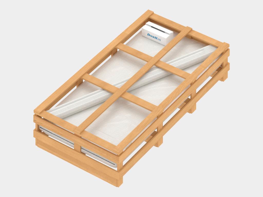 Дополнительная упаковка — деревянная обрешетка ДорХан