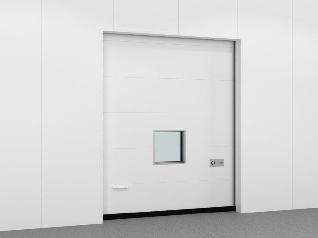 Дверь откатная для камер с регулируемой газовой средой (РГС). Вид изнутри камеры. ДорХан