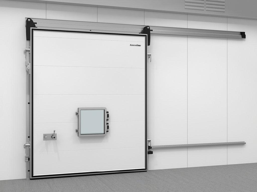 Дверь откатная для камер с регулируемой газовой средой (РГС) ДорХан