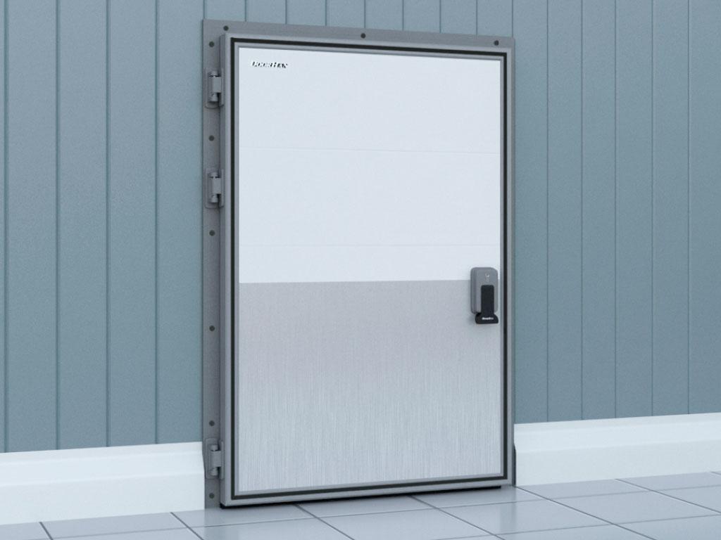 Внешняя сторона двери распашной для охлаждаемых помещений