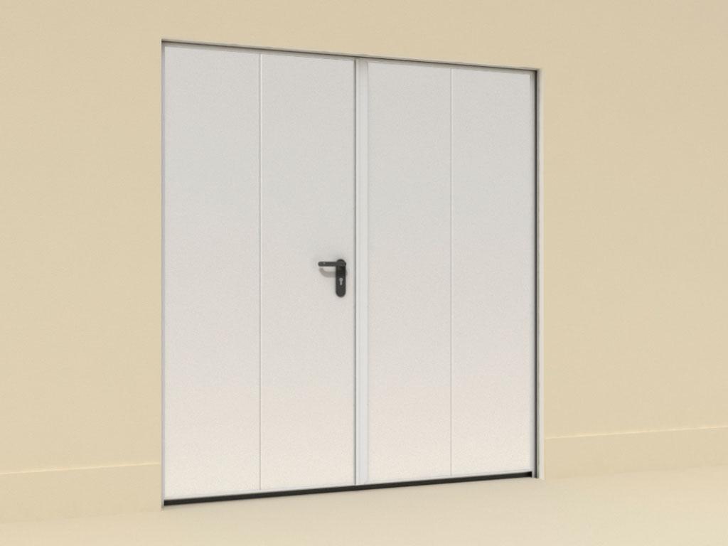 Двери-технологические-двустворчатые-Накладной-монтаж ДорХан