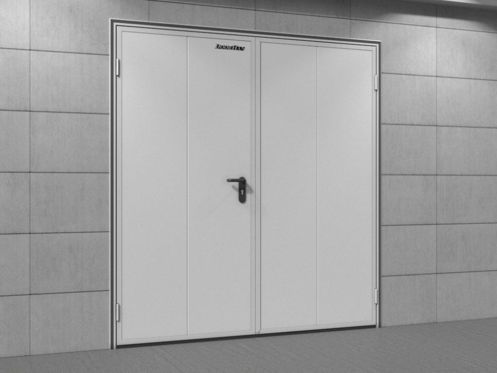 Двери технологические двустворчатые ДорХан