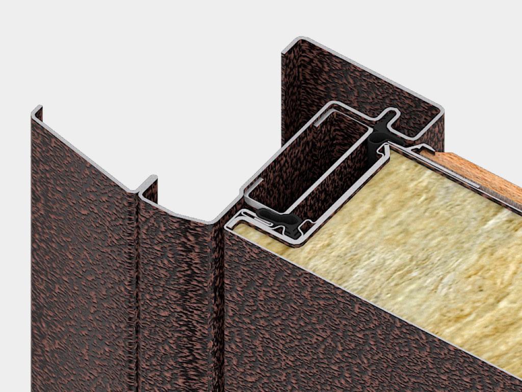 Дверная коробка для накладного монтажа самая популярная. Наличник коробки одновременно выполняет две функции: перекрывает монтажный зазор и выполняет декоративную функцию. ДорХан