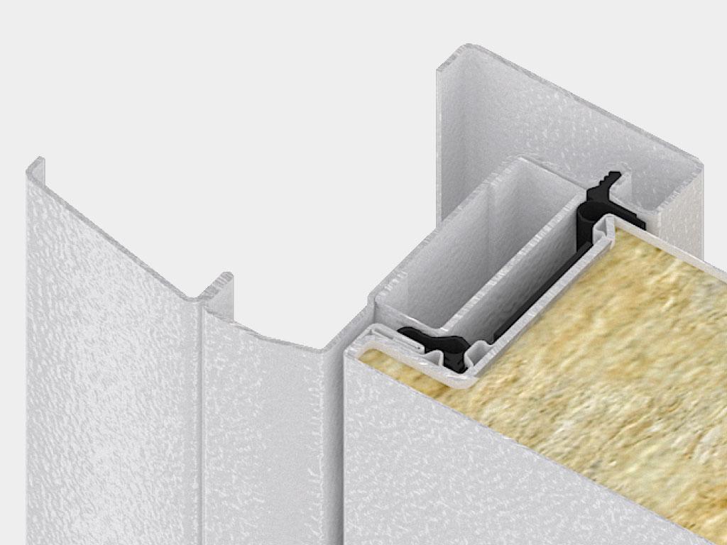 Дверная коробка для накладного монтажа является самым популярным способом установки двери. Наличник коробки одновременно выполняет две функции: перекрывает монтажный зазор и выполняет декоративную функцию.