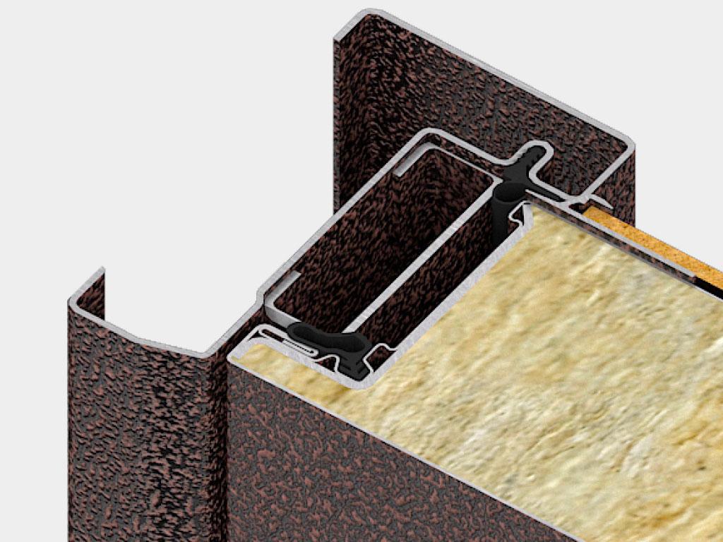 Дверная коробка для врезного монтажа позволяет устанавливать дверь как с открыванием внутрь, так и наружу помещения, а также дает возможность устанавливать дверь на объекте без пристенка. ДорХан