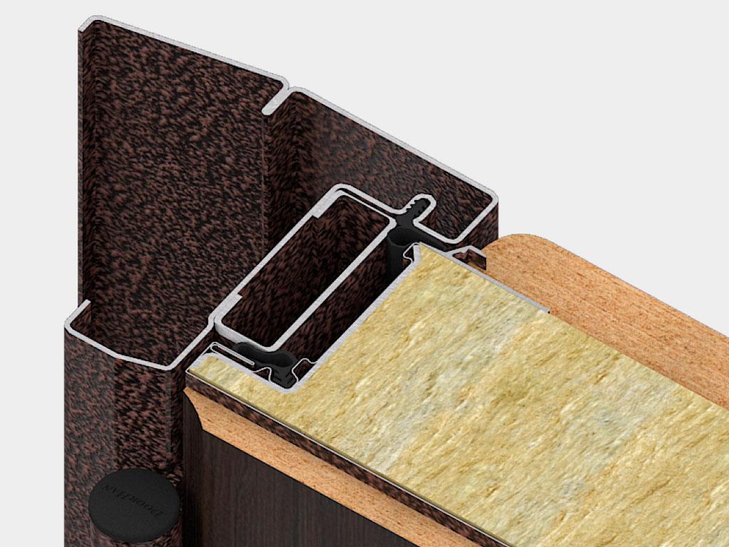 Дверная коробка внутреннего открывания устанавливается там, где есть требования к эвакуации и открывание двери внутрь помещения. ДорХан