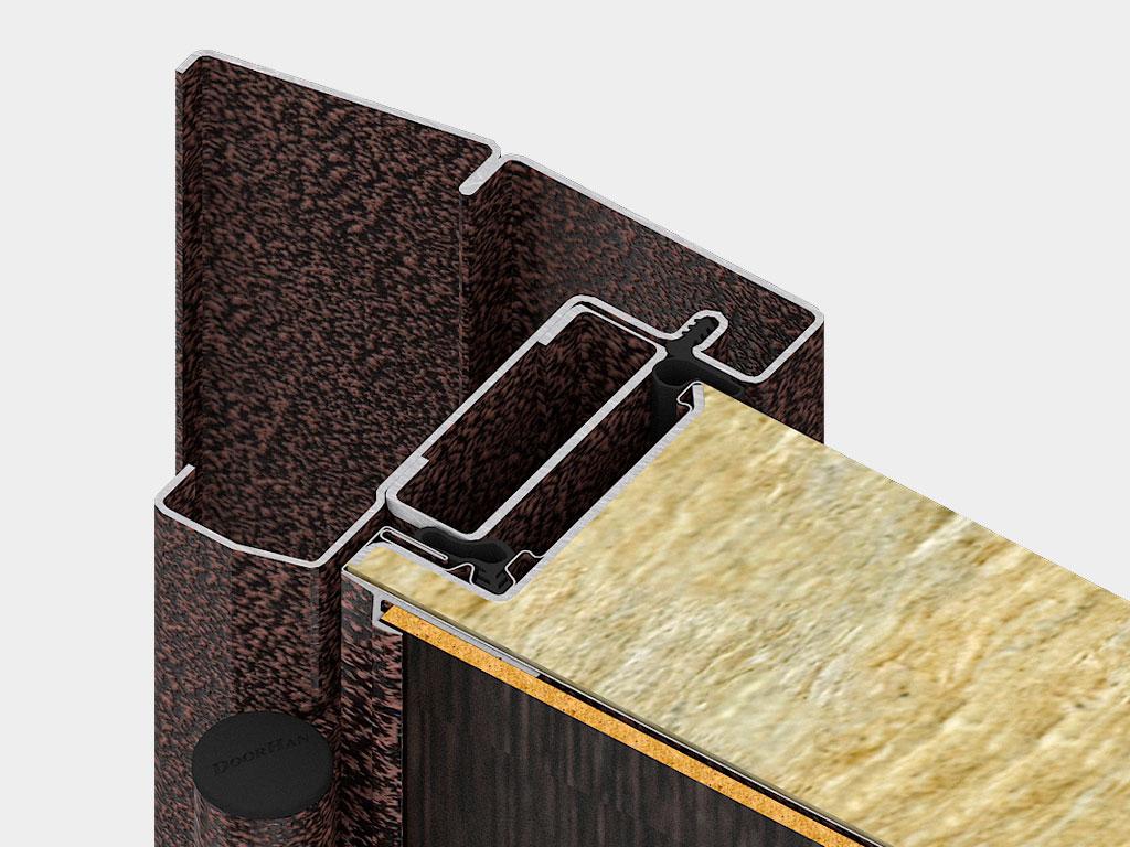Дверная коробка внутреннего открывания устанавливается там, где есть требования к эвакуации или необходимо открывание двери внутрь помещения. ДорХан