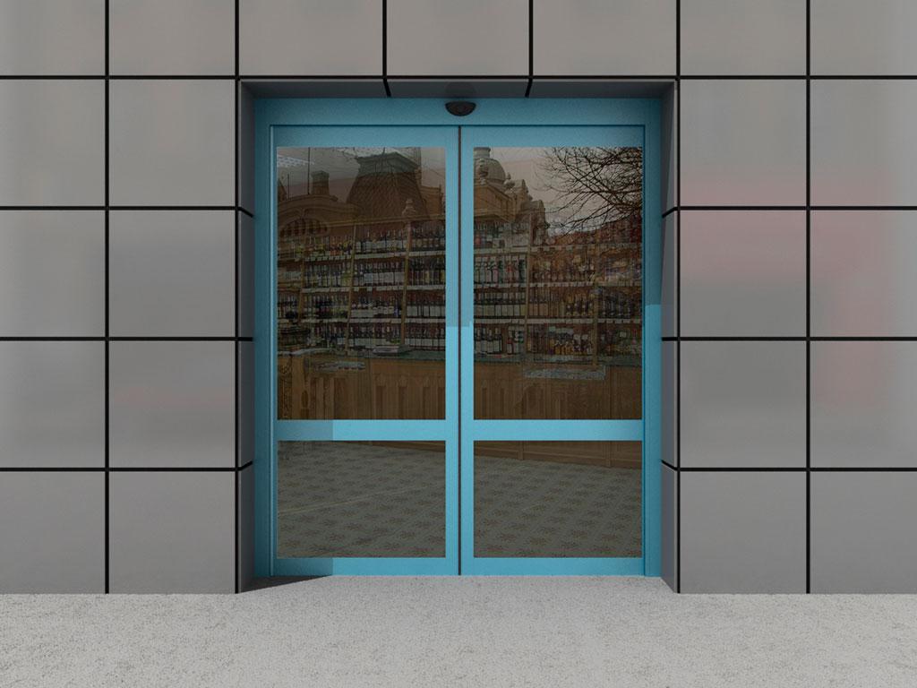 Двустворчатая дверь ДорХан