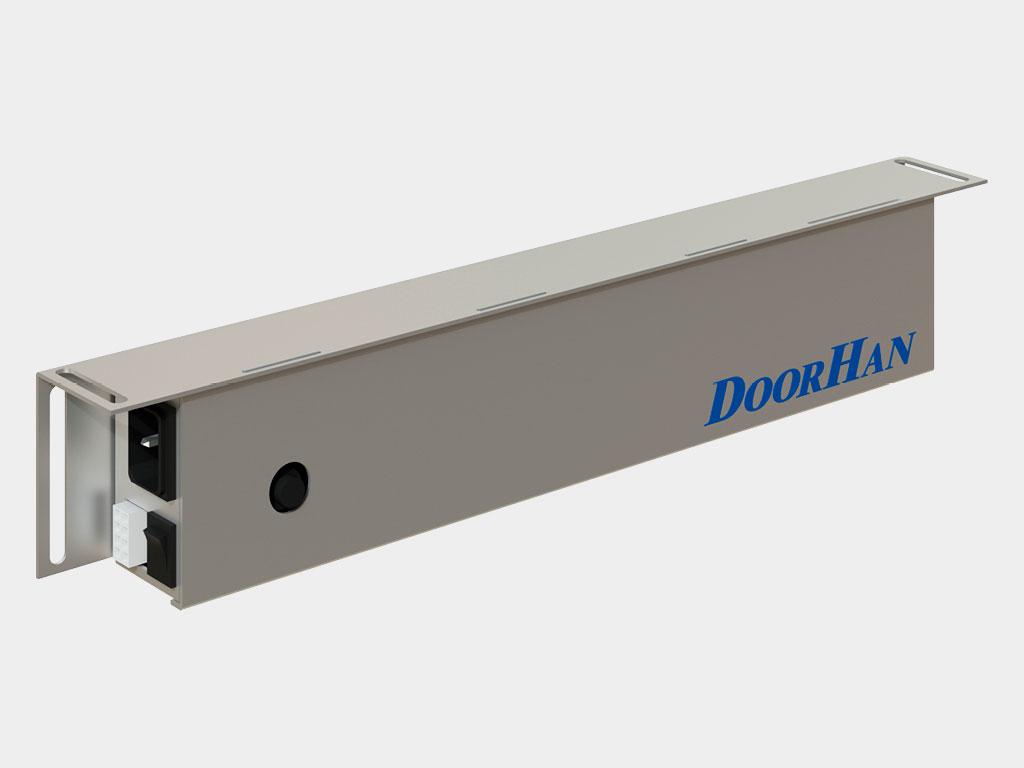 Контроллер привода позволяет эксплуатировать дверь в 6 режимах, что позволяет решать любые задачи по организации прохода ДорХан