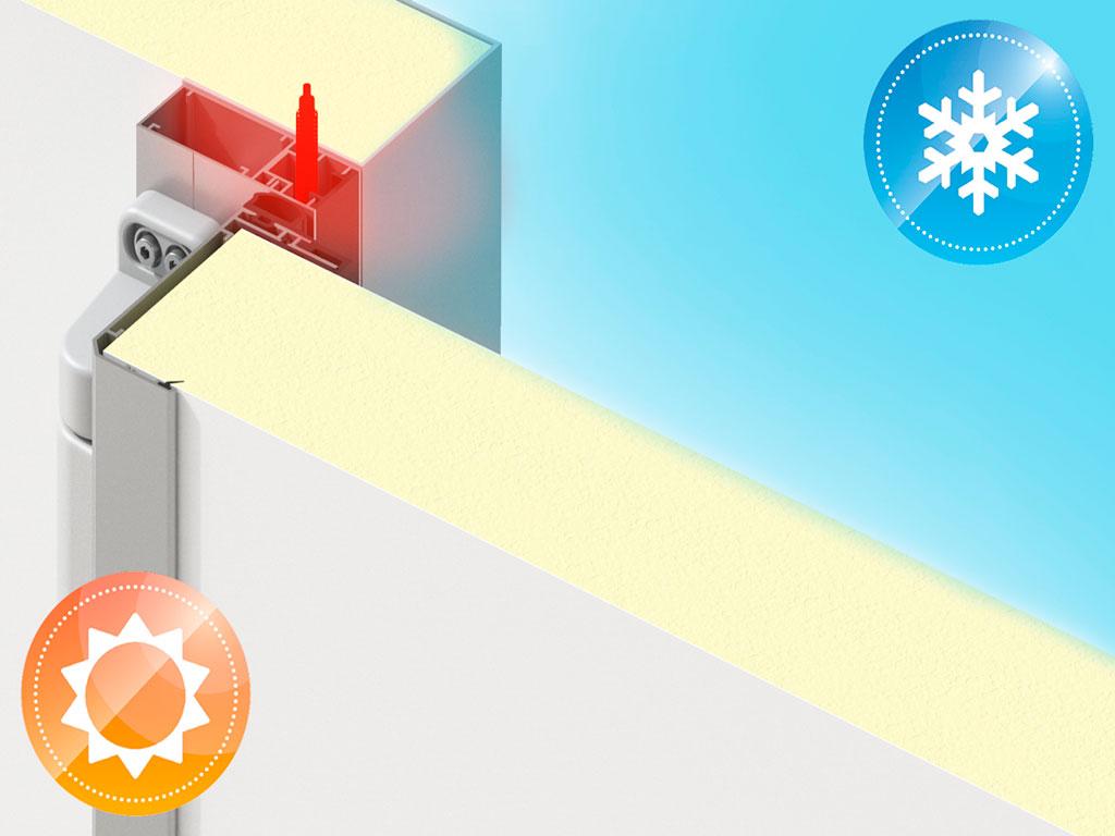 Надёжная работа в широком диапазоне температур до - 35°С ДорХан