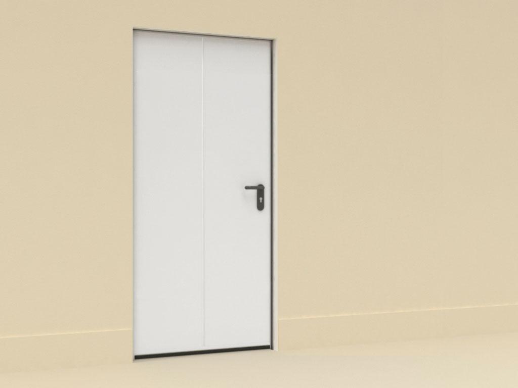 Двери технологические одностворчатые ДорХан