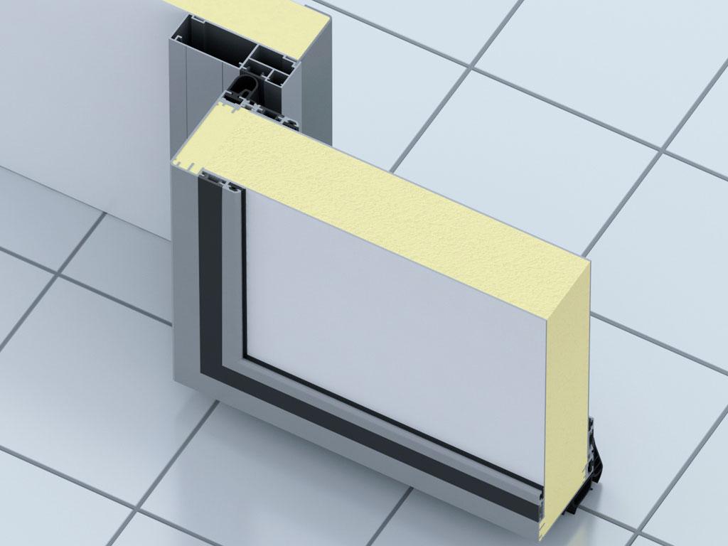 Небольшой вес и коррозионная стойкость обеспечивается за счет изготовления окантовки полотна и рамы из алюминия