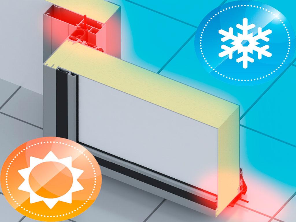 Низкотемпературное исполнение, панель 80 мм ДорХан